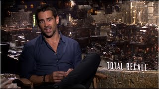 Colin Farrell on Why He Hated His Kiss With Kate Beckinsale in Total Recall