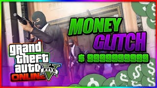 GTA 5 Online: *New Solo* GTA 5 Money Glitch (GTA 5 Money Glitch 1.43)