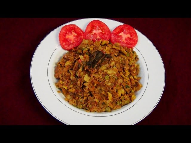 Cabbage Masala Fry (Cabbage Kasa) Recipe Video - PriyasRasoi.Com