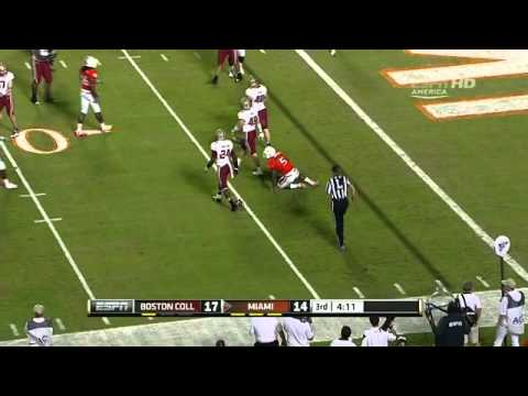 Luke Kuechly vs Miami (2011)
