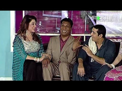 Silki Iftikhar Thakur and Zafri Khan New Pakistani Stage Drama Full Comedy Funny Play