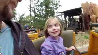 Big Thunder Mountain Roller Coaster - Disney World Magic Kingdom