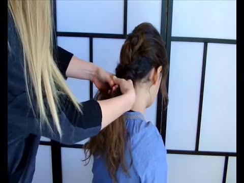 Peinados fáciles, rápidos y bonitos para jóvenes, para clase, el trabajo 15