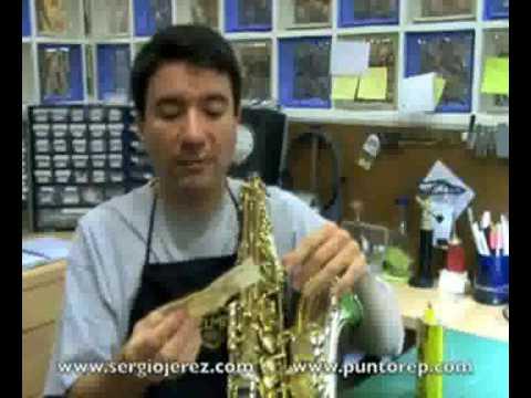 Como limpiar el Saxofòn