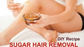 Sugaring Hair Removal - Part 1 - Ms Toi
