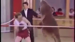 boxing giữa người và Kanguru