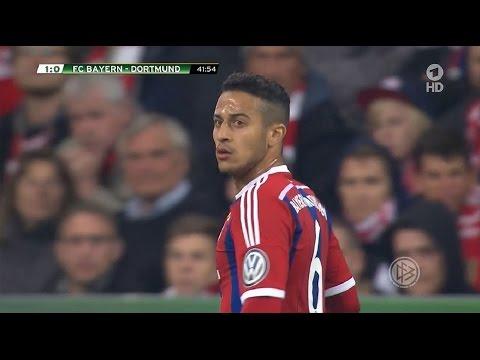 Thiago Alcântara vs Borussia Dortmund (H) DFB Pokal 14-15   HD 720p (28/04/2015)