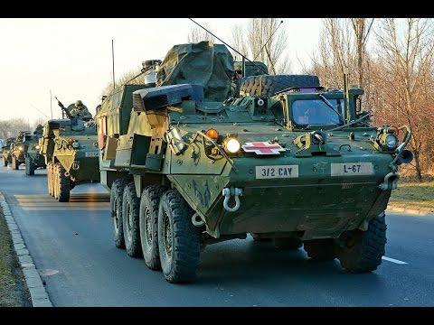 Amerykańscy żołnierze W Lublinie | US Army Convoy In Lublin | Dragoon Ride
