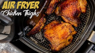 Asian Chicken Thigh Recipe Made in the Air Fryer! Low Carb