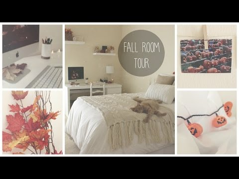 Fall Room Tour // BeautyBySiena ☂♡