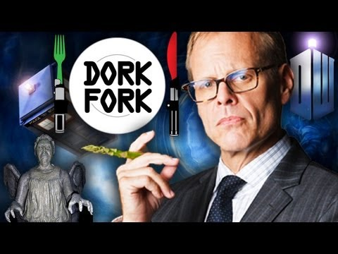 ALTON BROWN cooks DOCTOR WHO style: DORK FORK - Episode 1