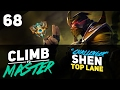 "ENTERTAINING ""Challenger"" SHEN GAME - Climb To Master - Episode 68  (Riot Point Giveaway)"