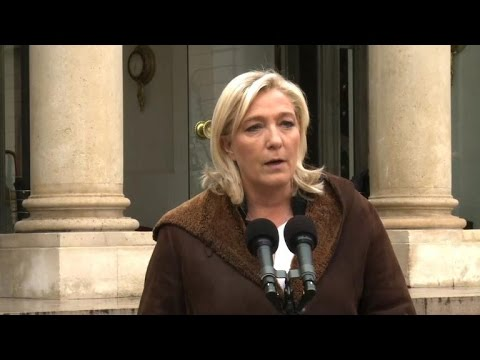 French far-right leader gives up on Charlie rally