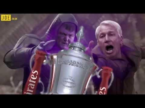 Louis Van Gaal vs. Alan Pardew - FA CUP FINAL #joe.co.uk
