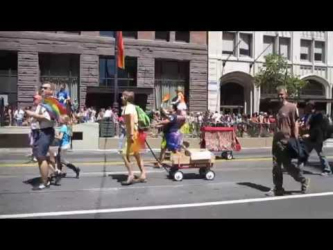 San Francisco Pride Parade 2014 The Berkeley School