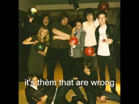 Arctic Monkeys - Who The Fuck Are Arctic Monkeys? (Lyric)
