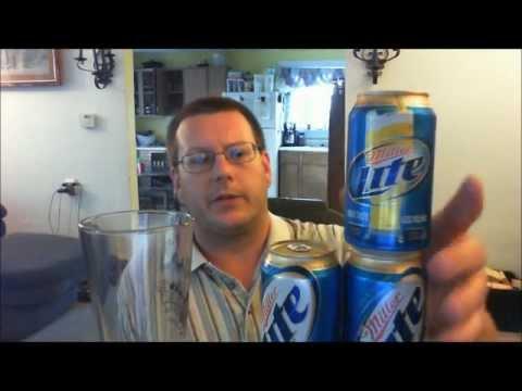 Beer on a budget- Miller Lite