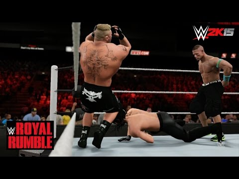Wwe 2k15 Royal Rumble 2015 - Triple Threat Wwe World Heavyweight Title Match! (updated Attires) video