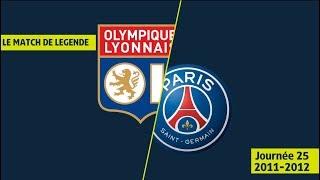 Résumé Olympique Lyonnais - Paris Saint-Germain (4-4) OL/PSG - 2011/2012 - Ligue 1 Legends