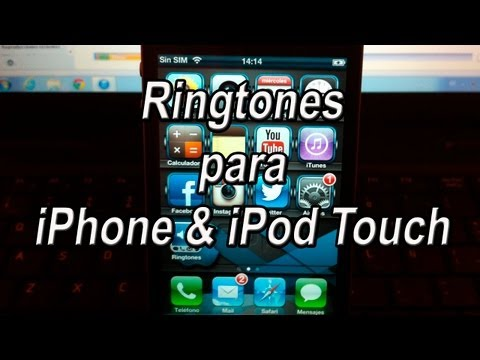 Descarga y Crea Tonos Gratis para tu iPhone y iPod Touch