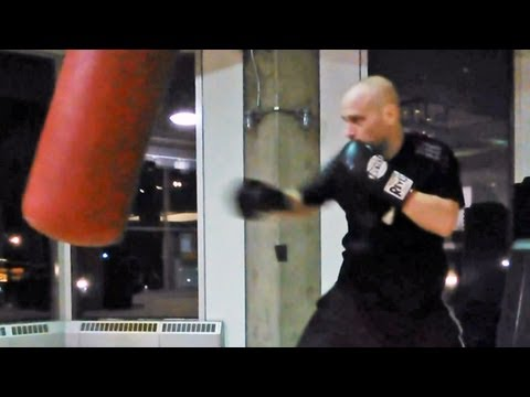 Killer Heavy Bag Workout for Boxing Image 1