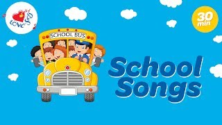 School Songs For Kids Playlist | Kids Action Songs | Children Love to Sing