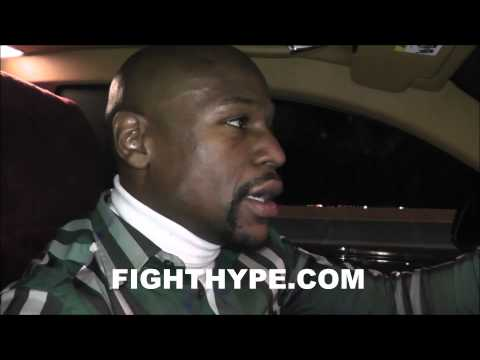 FLOYD MAYWEATHER SAYS HE'S HAVING A