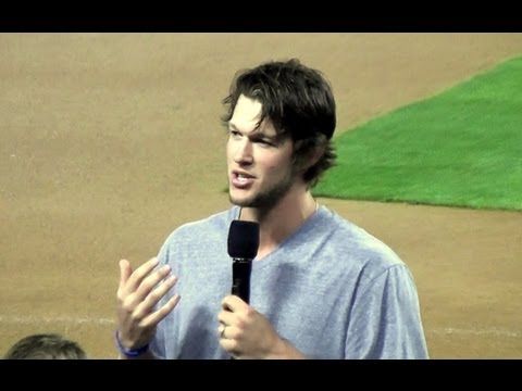 Clayton Kershaw and AJ Ellis Speaking at Dodger Stadium 'Faith Night' Part 3, 7-27-13
