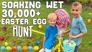 HUGEST Easter Egg Hunt EVER || Mommy Monday