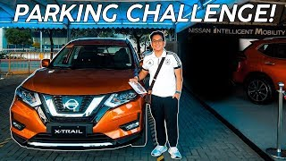 PARKING CHALLENGE with the 2018 Nissan X-Trail / Rogue!