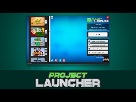 Project Launcher | BETA 0.5.4 | Descarga Modpacks para Minecraft | HEBERON