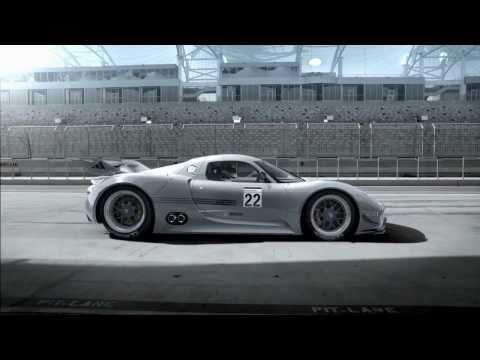 Porsche Unveils 918 RSR Hybrid Race Car - 2011 NAIAS Detroit Auto Show