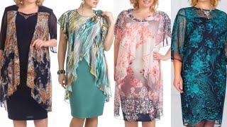 plus size women plain and print chiffon double breasted jackets style sheath bodycon dress design