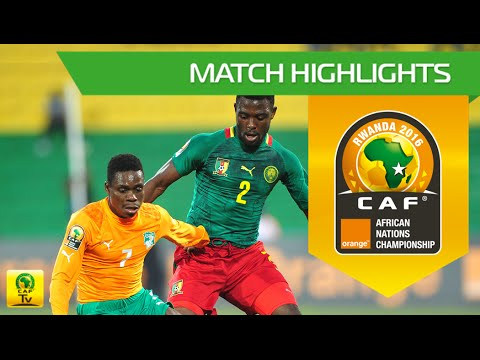 Cameroon vs Côte d'Ivoire (QF) | Orange African Nations Championship, Rwanda 2016