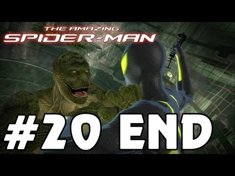 The Amazing Spider-Man - [ENDING] 'Playthrough Part 20' TRUE-HD QUALITY