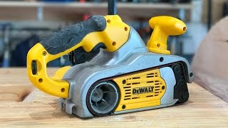 Repairing DEWALT DW433 Belt Sander | Fixing Woodworking Tools