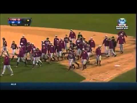 Benches clear in Florida vs. Florida State baseball game