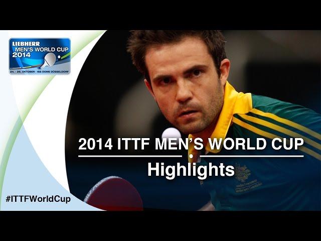 2014 Men's World Cup Highlights: MATTENET (FRA) vs HENZELL (AUS) - (Qual Groups)