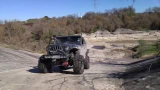 Jeep Tj offroad