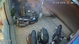 Trộm xe máy ở bình tân tối 29/4/2019