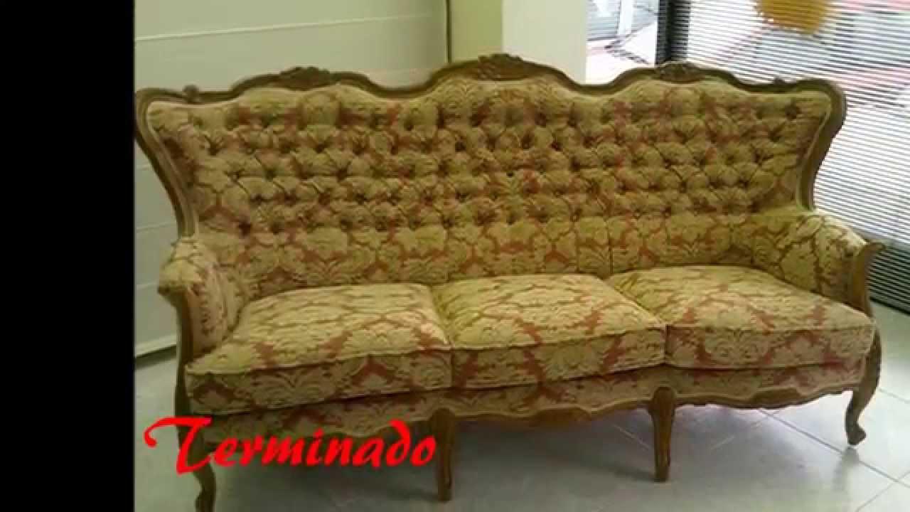 Tapizar sof en capiton youtube - Tejidos para tapizar sofas ...