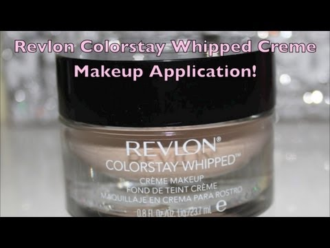 Sam Schuerman Revlon Colorstay Whipped Creme Makeup Review Swatches