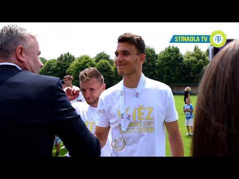 Radost po vítězství v Juniorské lize (27.5.2018)