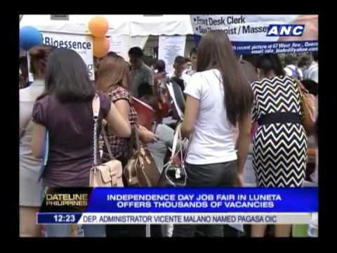 65,000 jobs up for grabs at Luneta job fair