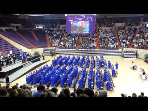 Pickens High School 2014 graduation ceremony