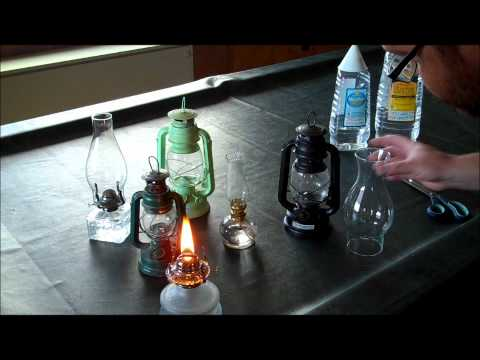 Coke Can Waste Motor Oil Lantern How To Make Do