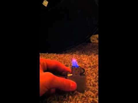 Zippo using rubbing alcohol