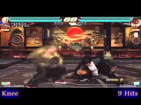 Tekken Tag 2 - Korea Combo Exhibition