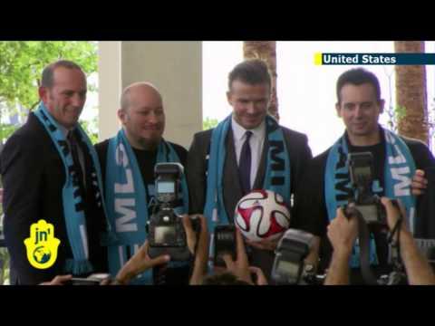 Miami Welcomes Beckham: English football icon David Beckham brings Major League Soccer to Miami