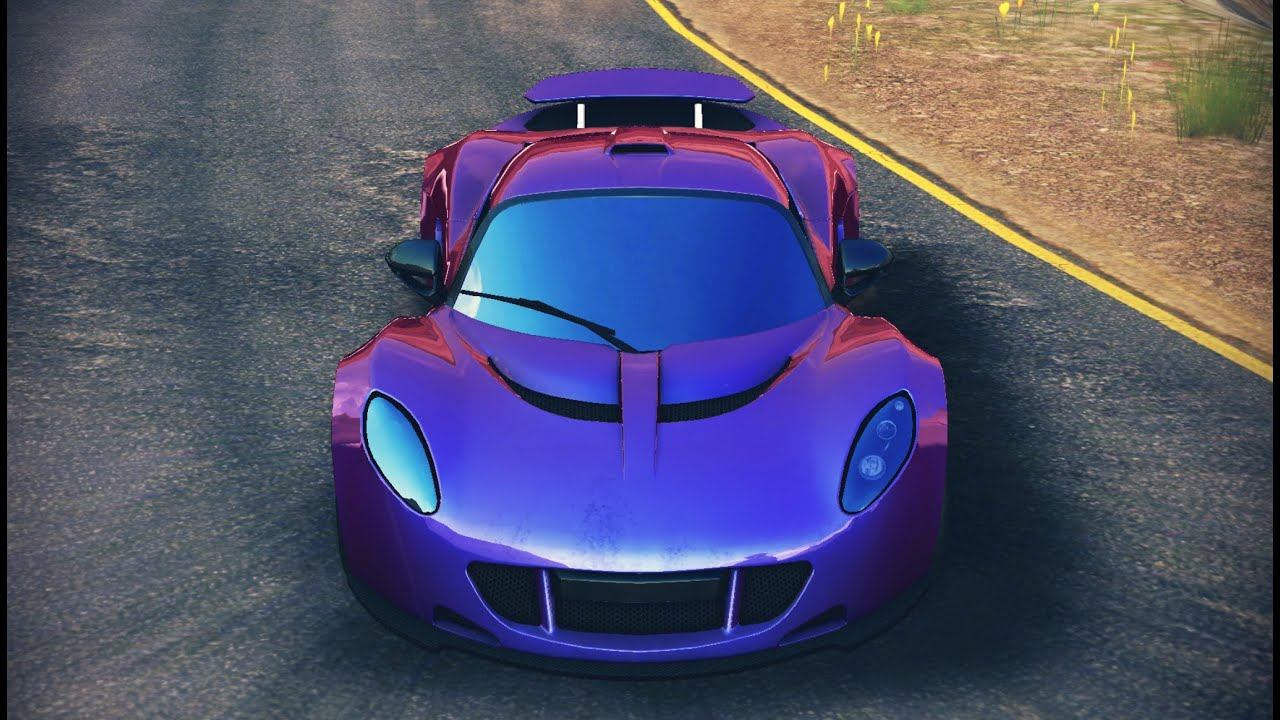 Purple Hennessey Venom Gt >> Asphalt 8 - Hennessey Venom GT (Wall Ascent) 56:924 - YouTube